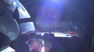 Watch Elon Musk's Tesla Roadster Orbit Earth