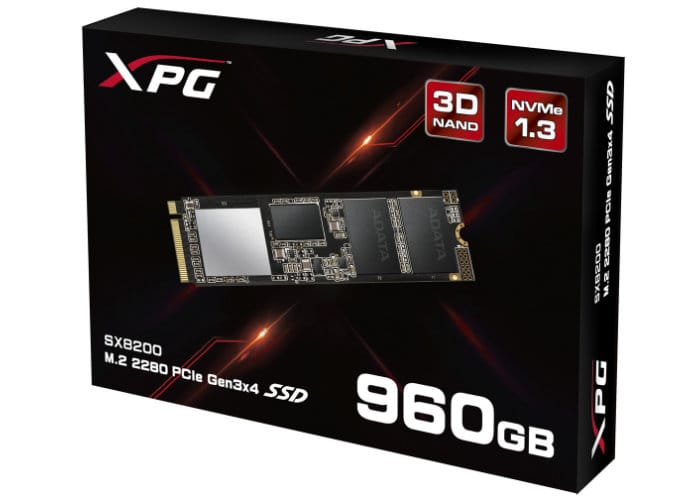 ADATA XPG Gaming SX8200 PCIe M.2 2280 SSD Launches