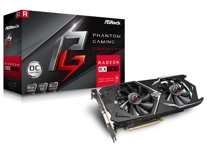 ASRock Phantom Gaming Series Graphics Cards