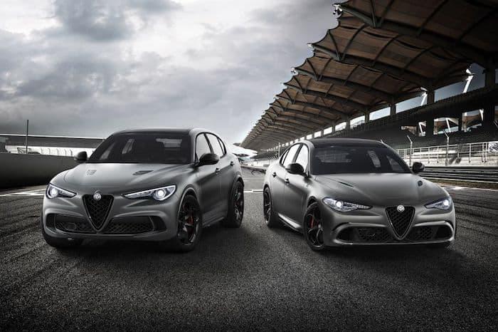 Alfa Romeo Giulia and Stelvio Quadrifoglio NRING