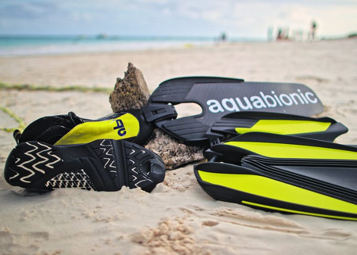 Aquabionic Abs Modular Diving Fin Binding System