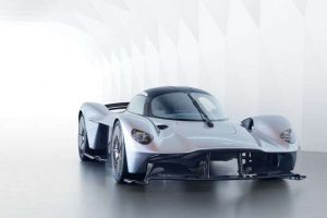 """Mid-engine """"Baby Valkyrie"""" Rumored from Aston Martin"""