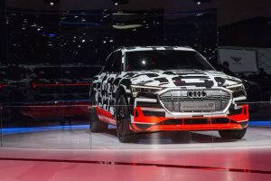 New Audi e-tron Prototype Shown Off In Geneva
