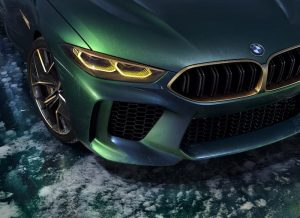 BMW Concept M8 Gran Coupe Unveiled