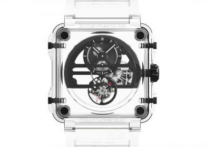 $480,000 Bell & Ross BR-X1 Skeleton Tourbillon Sapphire Watch