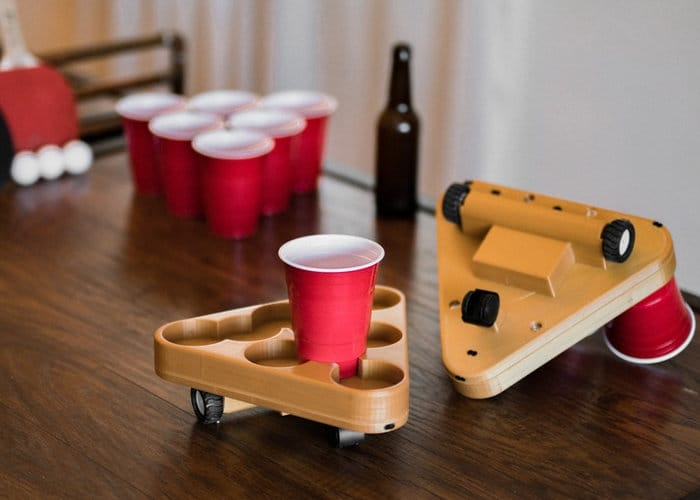 Bruu Motorised Beer Pong Robot