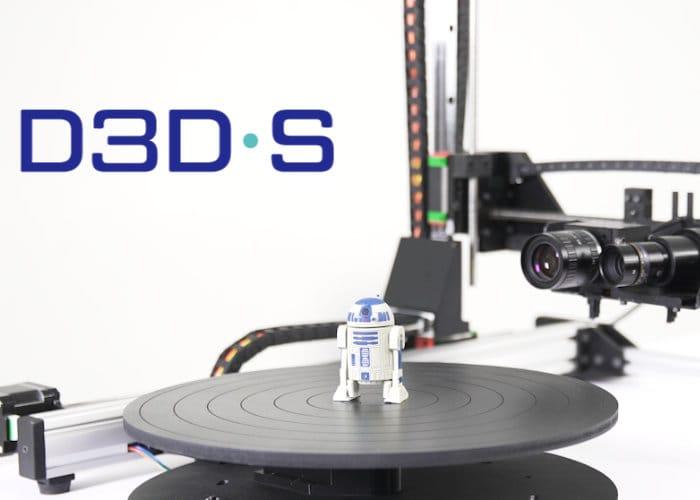 D3D High Resolution Desktop 3D Scanner