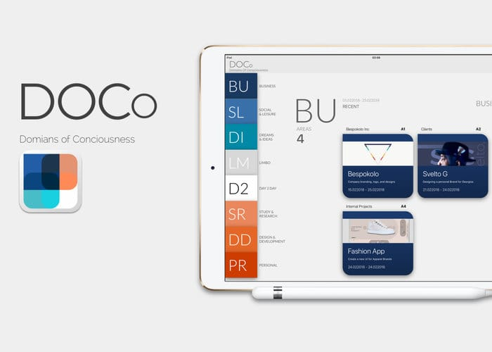 DOCo iOS App Lets You Easily Interact With Notes, Thoughts And Ideas - Geeky Gadgets