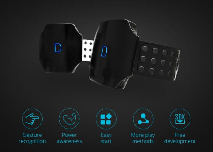 DTing Gesture Controller Wristband