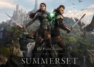 The Elder Scrolls Online Summerset Unveiled With Cinematic Gameplay Trailers