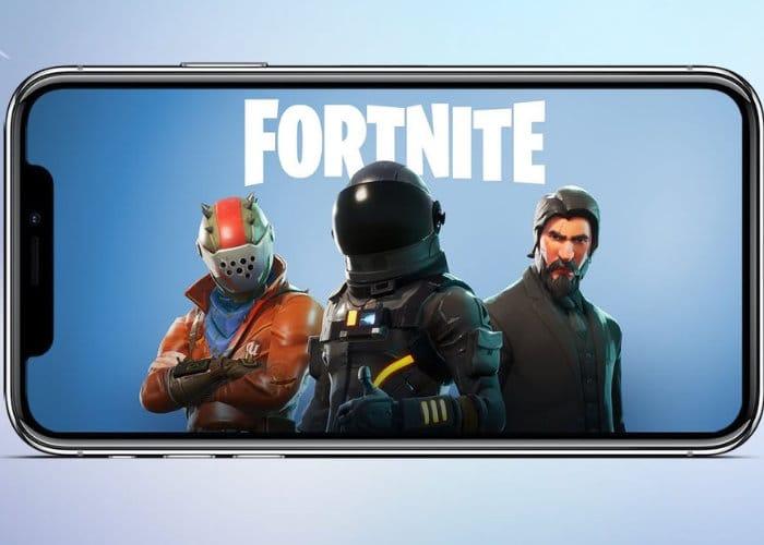 Fortnite mobile iPhone X vs Xbox one x