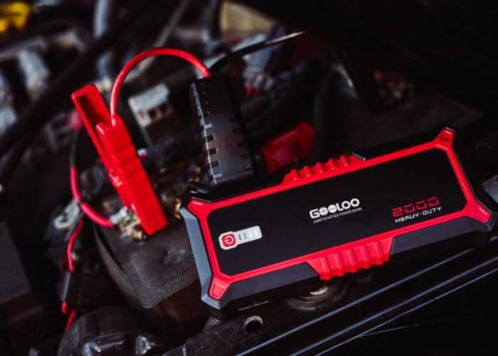 GOOLOO Powerful Portable Car Jump Starter
