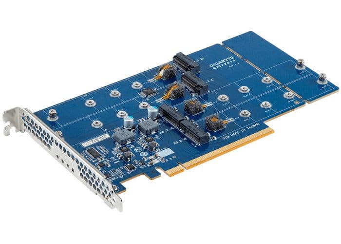 Gigabyte CMT2014 M.2 Slot Card Converts PCIe