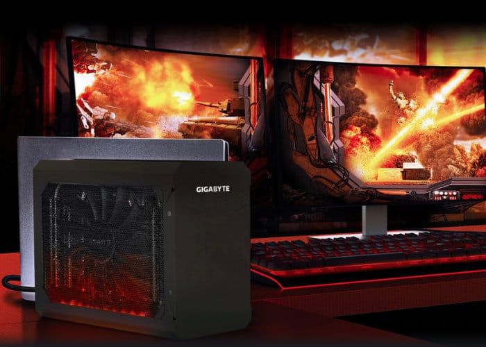 Gigabyte RX 580 Gaming Box External Graphics Card