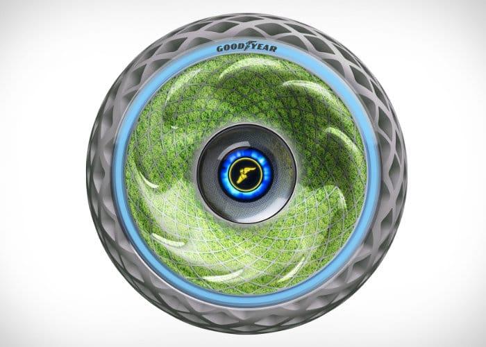 Goodyear Oxygene Living Tire Concept