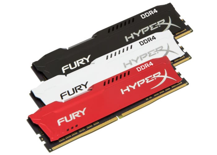 Kingston HyperX FURY DDR4 And Impact DDR4 Memory