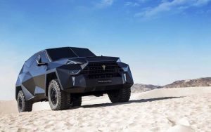 This Bullet Proof Karlmann King SUV Costs $1.85 Million (Video)