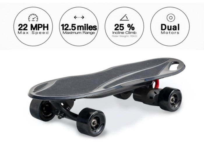 KingKong Pro Dual Motor Electric Skateboard