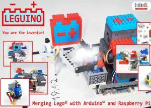 Leguino Maker Kit Merges Lego, Raspberry Pi And Arduino