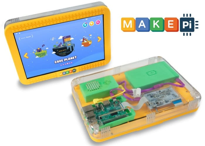 MakePad Touchscreen Tablet Designed To Teach Code