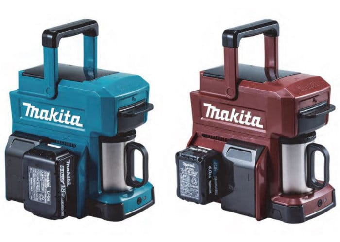 Makita Portable Rugged Coffee Machine