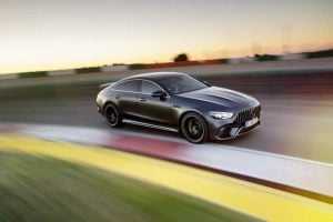 This Is The Mercedes AMG GT 4 Door Coupe