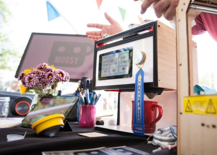 Mugsy The Raspberry Pi Coffee Robot