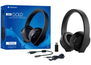 New PlayStation Gold Wireless Headset 2018