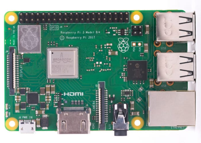 New Raspberry Pi 3+