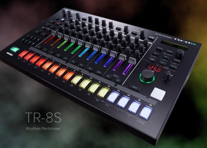 New Roland TR-8S Drum Machine