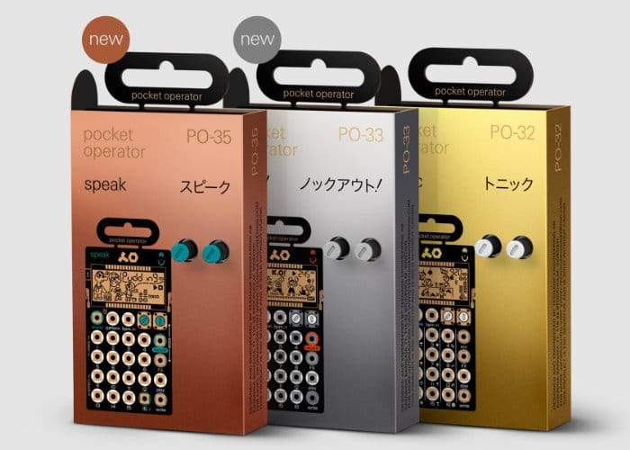 New Teenage Engineering Pocket Operators