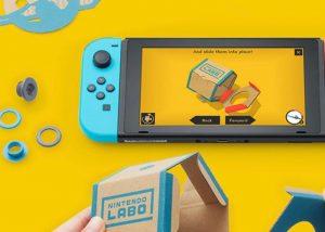 Nintendo Toy-Con Garage Demonstrated By Nintendo
