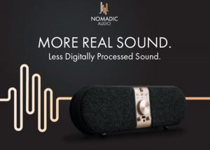 Nomadic Audio Portable Speaker Designed For Traveling Audiophiles
