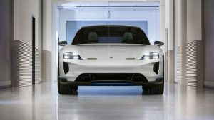 Here Is Another Video Of The Porsche Mission E Cross Turismo