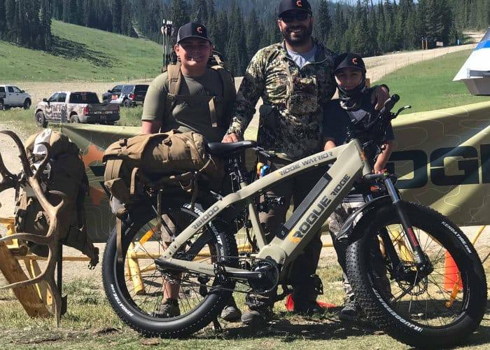 Ridge Warrior RB1000 Fat Electric Bike