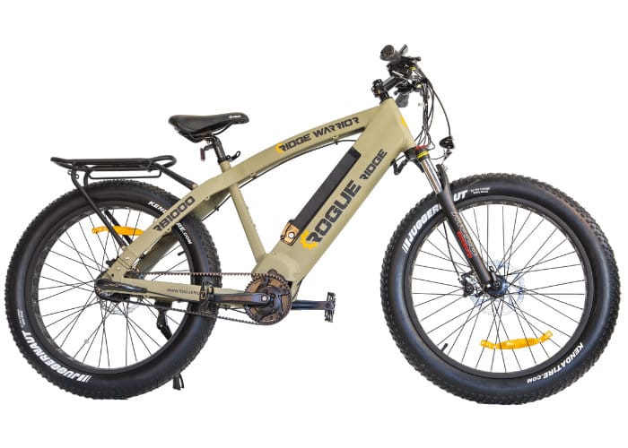 ridge warrior rb1000 fat electric bike 4 600 geeky gadgets. Black Bedroom Furniture Sets. Home Design Ideas