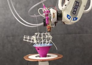 RoMA Robotic Fabrication Assistant Uses VR, 3D Printing And CAD