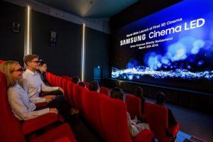 Samsung 3D Cinema LED Display Lands In Switzerland