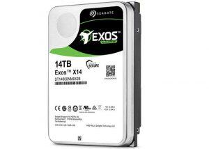 Seagate 14GB Helium-Based Exos X14 Enterprise Hard Drive