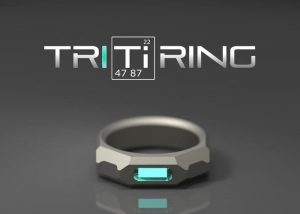 TRITiRING Glowing Titanium Ring Hits Kickstarter