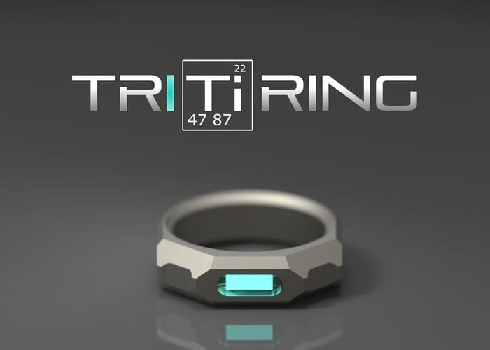 TRITiRING Glowing Titanium Ring