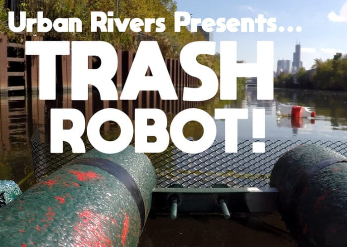 Trash Robot Multiplayer Game Lets You Clear Up Urban Rivers
