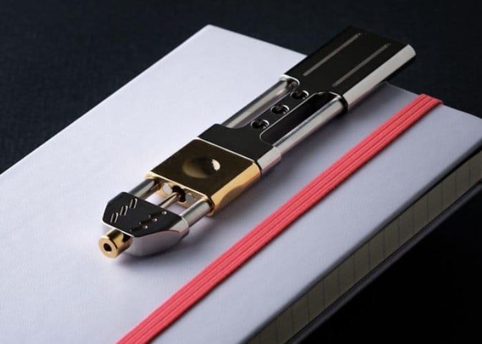 Unique Ko-Axis Rail Pen