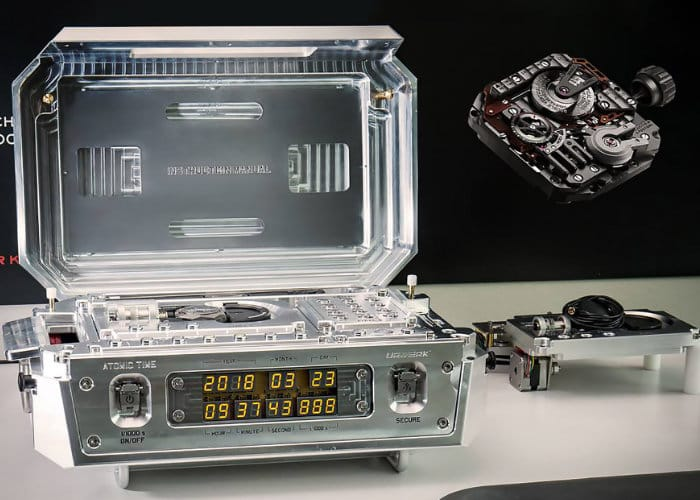 URWERK AMC Atomic Clock And Watch