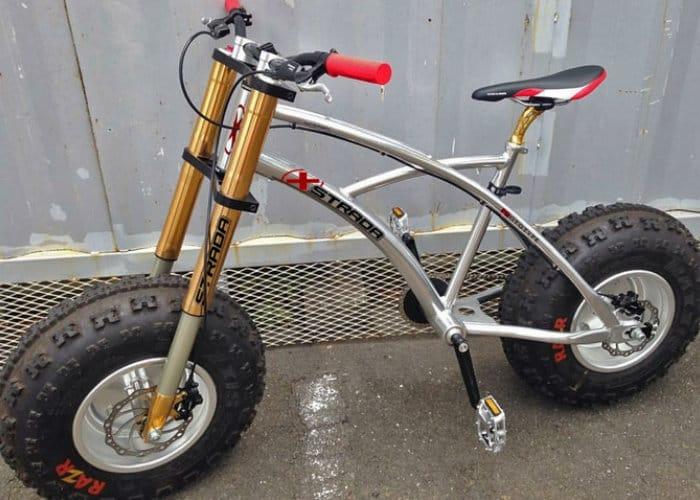 XStrada Ultra Fat Bike And Electric Bike Upgrade