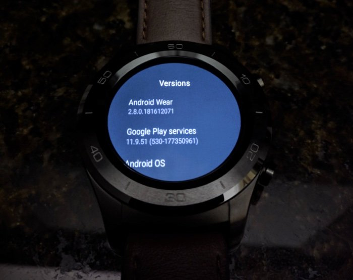 Android Wear Wear OS