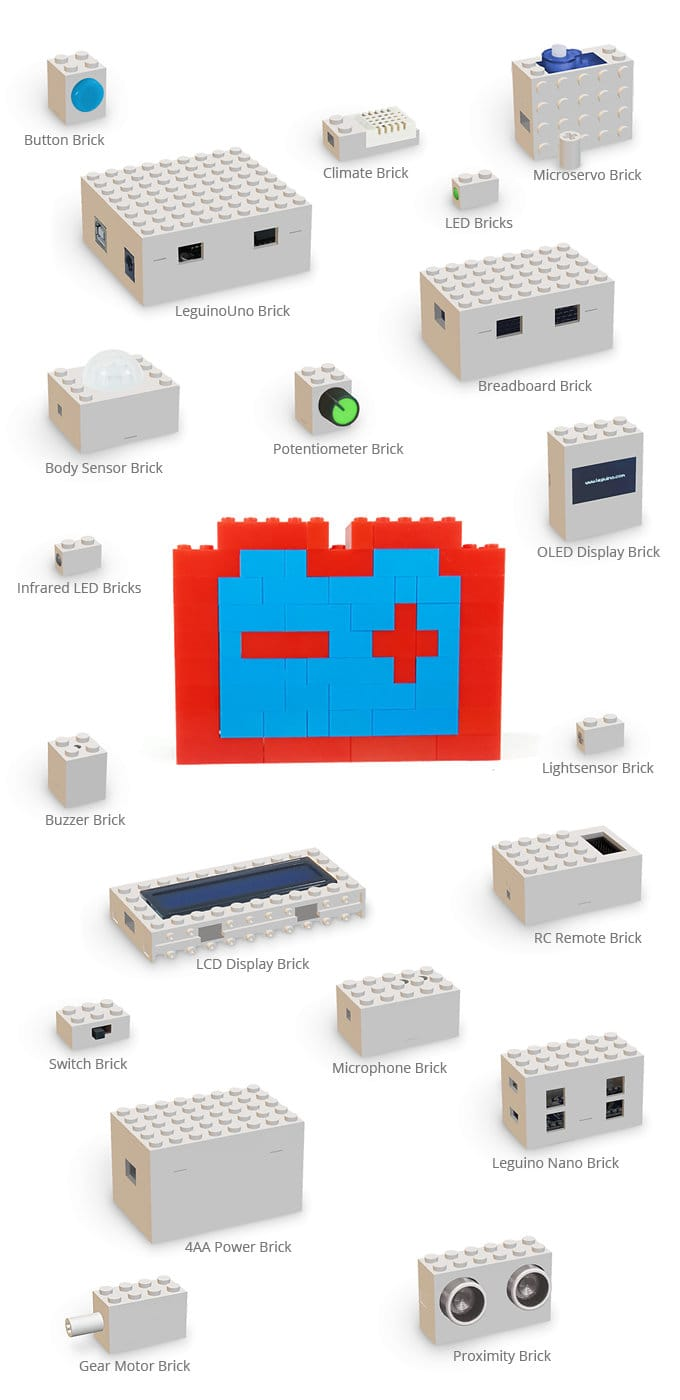 Leguino Maker Kit Merges Lego, Raspberry Pi And Arduino