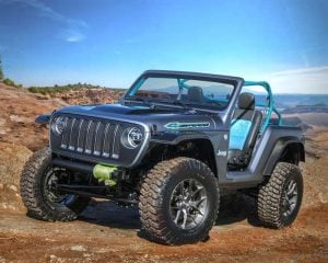 Jeep 4Speed is a Lightweight and Nimble Off-roader