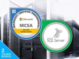 MCSA SQL Server Certification Training Bundle