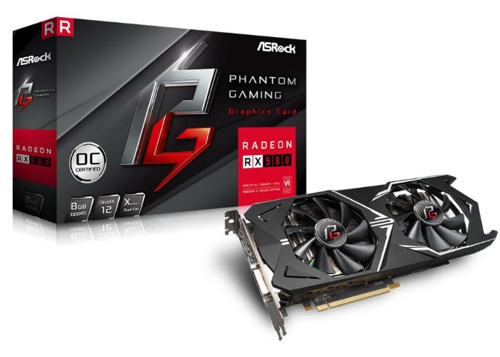ASRock Phantom Graphics Cards